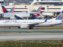 United Airlines отменила рейс из-за пьяных пилотов