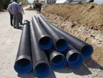 В жилмассиве «Ак-Ордо» начали строить канализацию