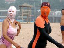 В Китае создан оригинальный купальник