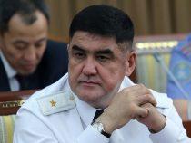 Экс-заместитель министра внутренних дел Курсан Асанов заключен под домашний арест до 13 октября