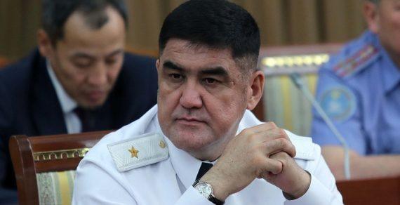 Замглавы МВД Курсан Асанов освобожден от должности