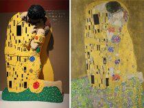 Художники начали использовать в работе конструкторы «LEGO»