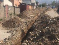 Еще один жилмассив в Бишкеке подключат к центральной канализации