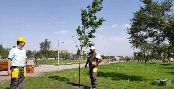 В южной части Бишкека открыли новый парк