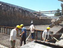 В Джалал-Абаде продолжается строительство второго подземного перехода по улице Ленина