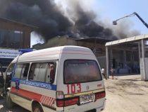Пожар в Бишкеке. В Минздраве рассказали о состоянии пострадавших