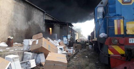 Склад бытовой техники, где произошел пожар, принадлежит компании «Беко»