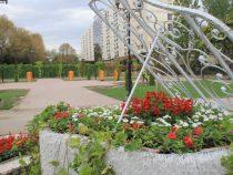 В Бишкеке благоустраивают сквер «Театральный»