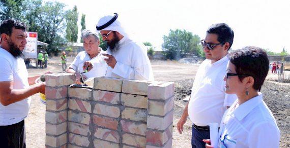 В Токмоке начали строительство нового роддома
