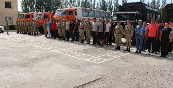 В Балыкчы проходят мобилизационные учения «Формирование-2019»