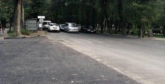 Ремонт улицы Московской в Бишкеке близится к завершению