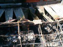 Пожар на складе бытовой техники на Дордое ликвидирован