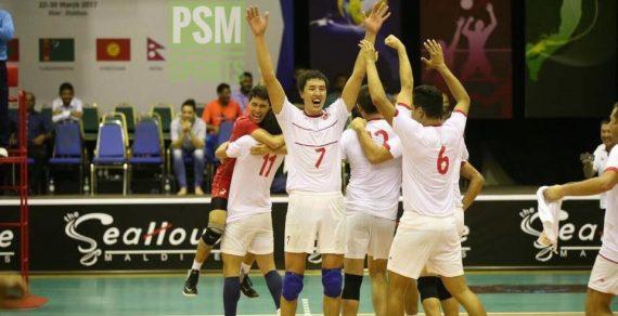 Сборная Кыргызстана по волейболу вышла в финал зонального чемпионата Азии