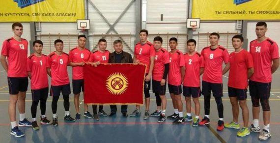 Национальная сборная Кыргызстана поволейболу стала чемпионом Азии