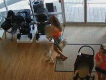 Воровка, укравшая детскую коляску, забыла в магазине ребёнка