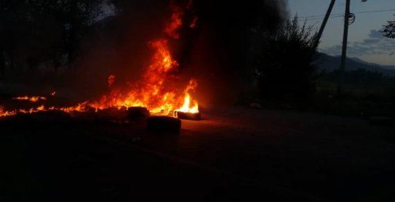 Хулиганы сожгли Беш-кунгейское поселковое отделение милиции