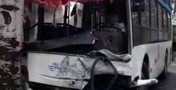 Пассажиры и водитель автобуса попавшего в ДТП в Бишкеке получат компенсацию