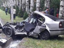 Крупное ДТП произошло на правительственной трассе в Бишкеке