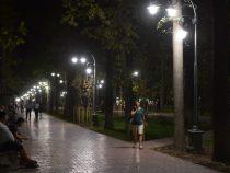 Освещение на столичных бульварах полностью отремонтировано