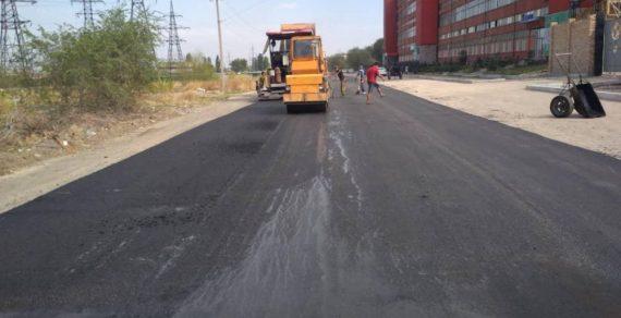 В Бишкеке продолжается ремонт еще нескольких дорог
