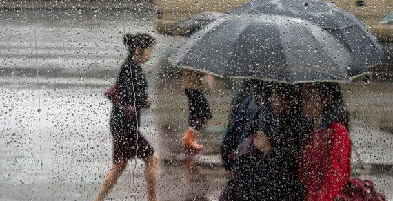 Дождь в Бишкеке зарядит на целые сутки