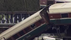 ВСША произошла крупная железнодорожная авария