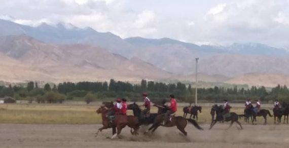 В Таласе начались спортивные соревнования в рамках Игр кочевников