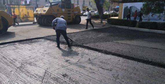 Улицу Московскую в Бишкеке  снова закроют на ремонт