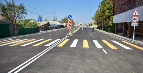 Строительство моста по улице Токтоналиева в Бишкеке завершено