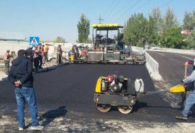 Строительство моста на улице Токтоналиева выходит на финишную прямую