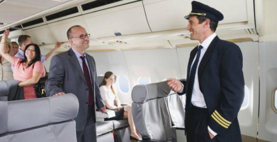 В Великобритании пилота на рейсе заменил пассажир