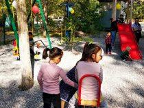 Вторая за неделю игровая площадка открылась в Бишкеке