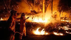 Аномальные пожары угрожают городам Австралии