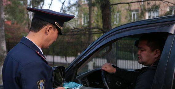В Бишкеке за шесть дней выявили 15 нетрезвых водителей