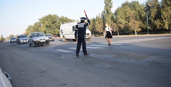 Инспекторы УОБДД будут дежурить возле школ Чуйской области