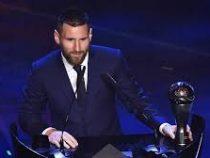 Лионель Месси признан лучшим футболистом года поверсии ФИФА