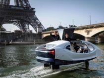 В Париже проводят испытания речного такси