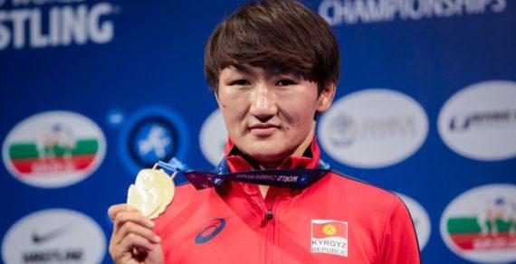 Айсулуу Тыныбекова возглавила рейтинг лучших борцов мира в своей весовой категории