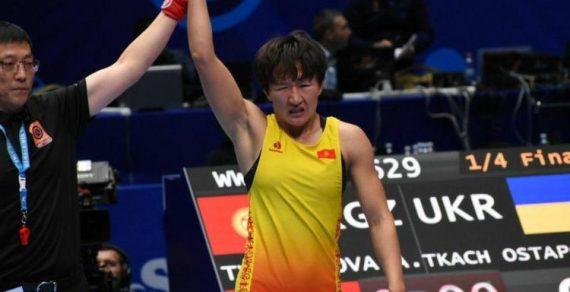 Ура!!! Айсулуу Тыныбекова — чемпион мира по борьбе