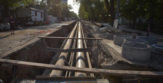 Ремонт на улице Токтогула в Бишкеке завершится через неделю