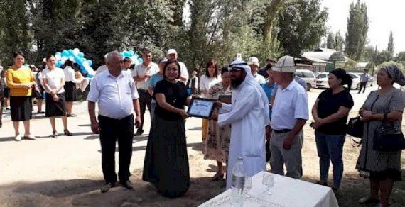 Село Мырза-Арык в Узгене обеспечили питьевой водой