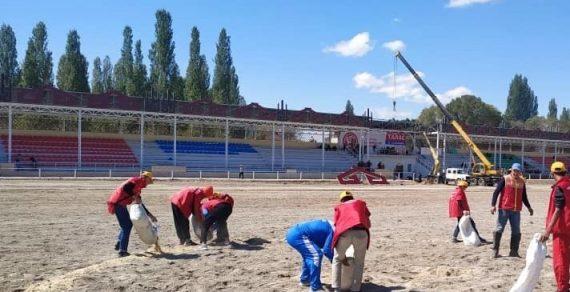 На Играх кочевников в Таласе работают 150 волонтеров