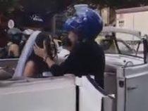В Колумбии байкер пытался сорвать свадьбу бывшей возлюбленной