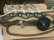 Барбекю для ленивых: плотник из США сделал автоматизированную гриль-машину из дерева