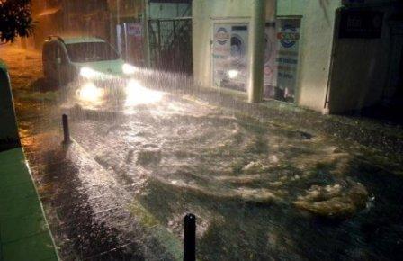 Турецкий Бодрум затопили ливни