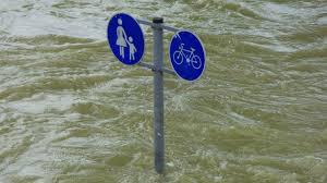 В Греции сильные дожди привели к наводнению