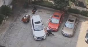 Зрители посмеялись над видеороликом с паркующимся автомобилистом