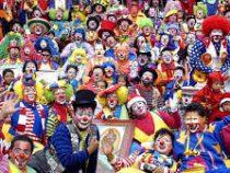 Всемирный слёт клоунов прошел в Мехико