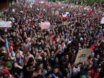 На протесты в столице Чили вышел миллион человек