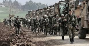 Насеверо-востоке Сирии Турция начала наземную операцию